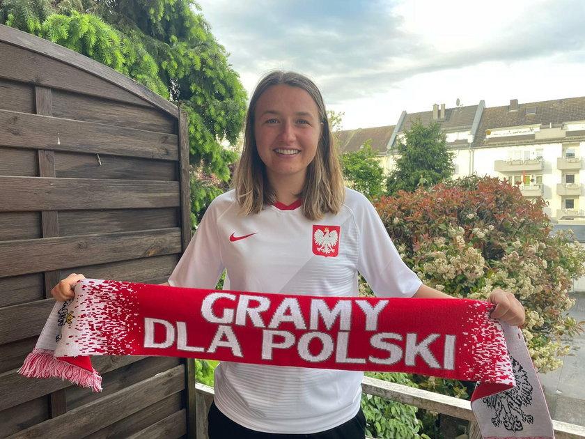 Już jako mała dziewczynka Tanja Pawollek wiedziała, w barwach jakiej reprezentacji chce grać.