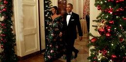 Michelle Obama jak... choinka. Wpadka stylistki?