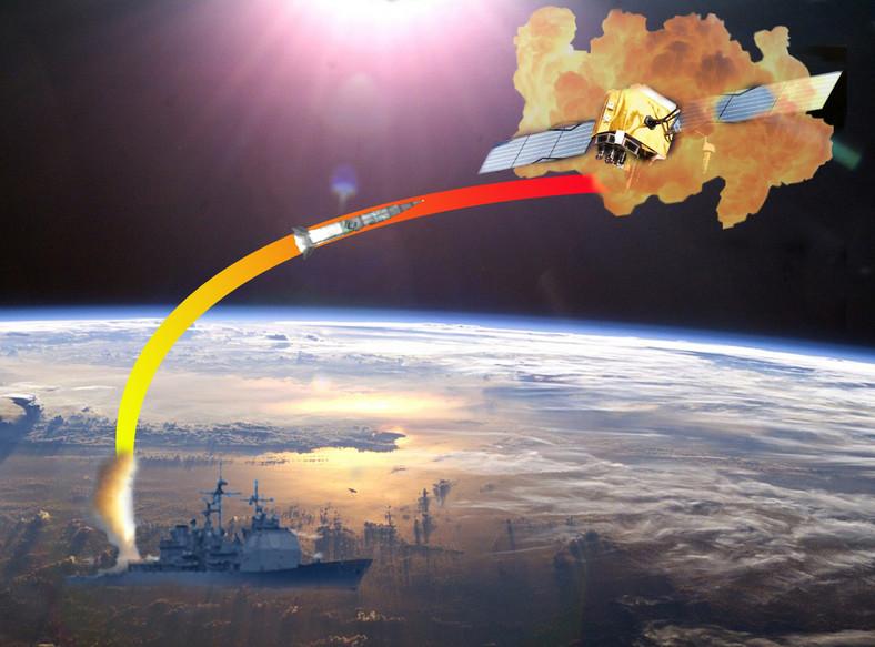 Amerykanie przygotowują się do zestrzelenia satelity