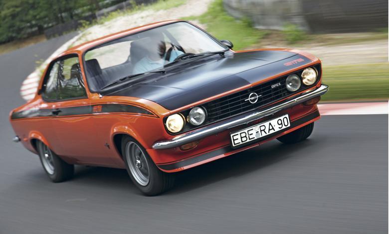 Manta jest tak samo mocna, jak Kadett Rallye, ale auto jeździ zupełnie inaczej.