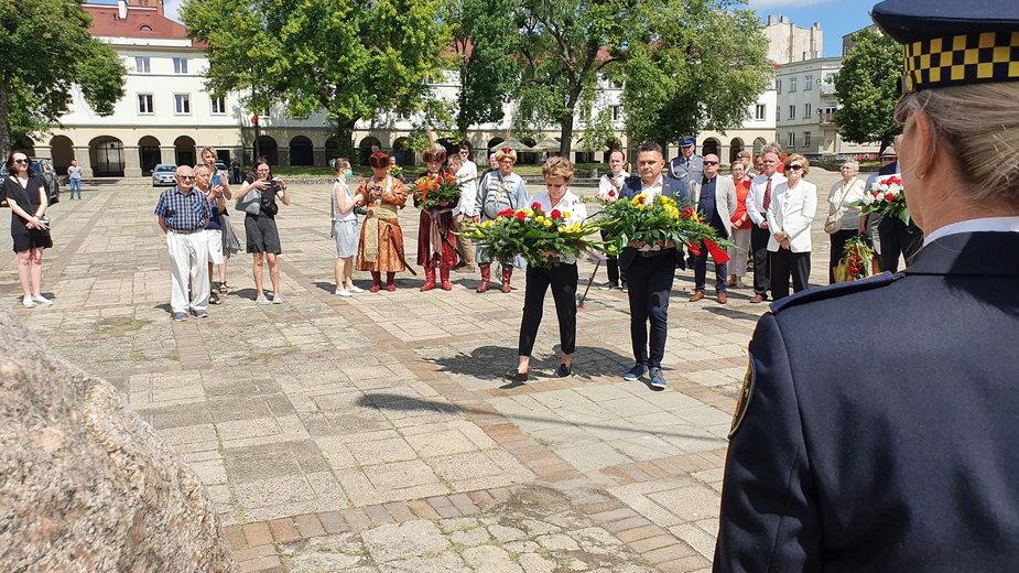 598. urodziny Łodzi - uroczystości na Starym Rynku