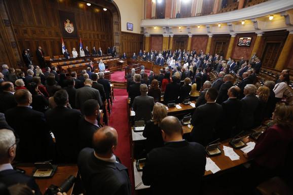 Počelo zasedanje Skupštine