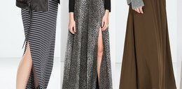 HIT jesiennych stylizacji: długie spódnice