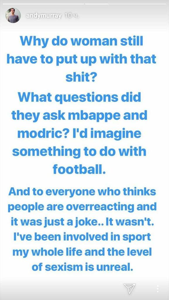 Objava Endija Mareja o skandalu na dodeli Zlatne lopte
