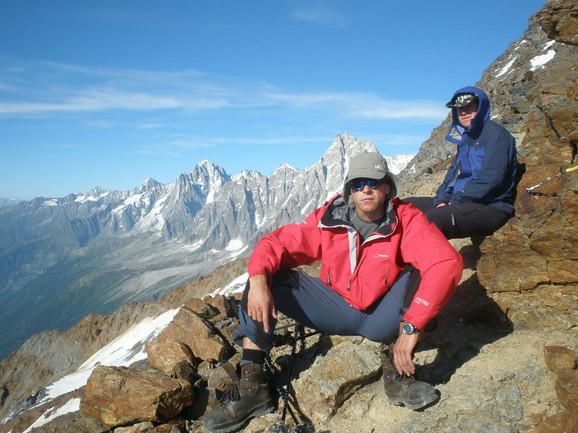 Marko Ukropina u pohodu na vrh
