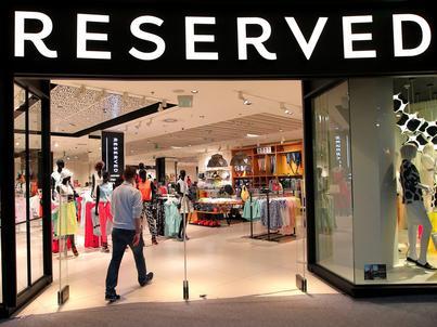 Reserved to największa marka odzieżowa w Grupie LPP