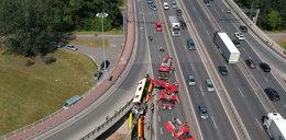 Przerażający wypadek w Warszawie. Kolejne szokujące informacje dot. kierowcy. Jak się tłumaczy?