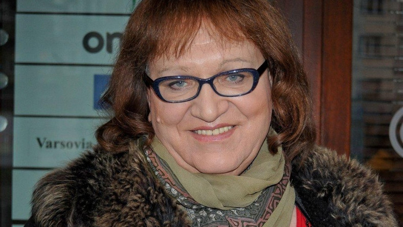 Posłanka Anna Grodzka.
