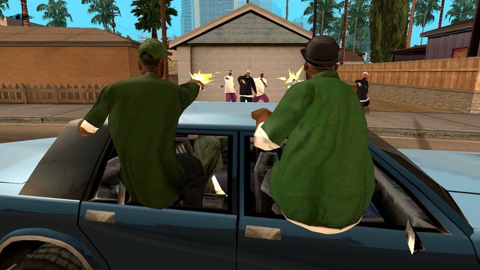 Grand Theft Auto: San Andreas (Android)
