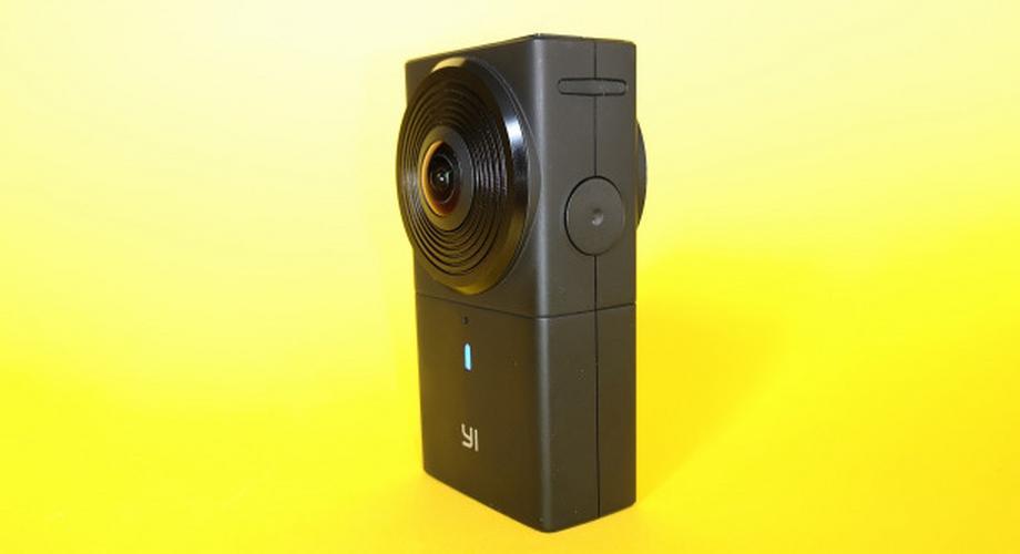 Yi 360 VR im Test: 360-Grad-Kamera mit 16,6 Megapixel