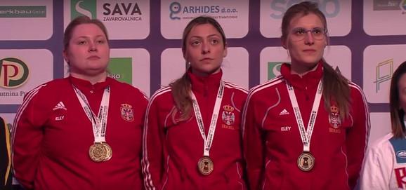 Zorana Arunović, Bobana Veličković i Jasmina Milovanović