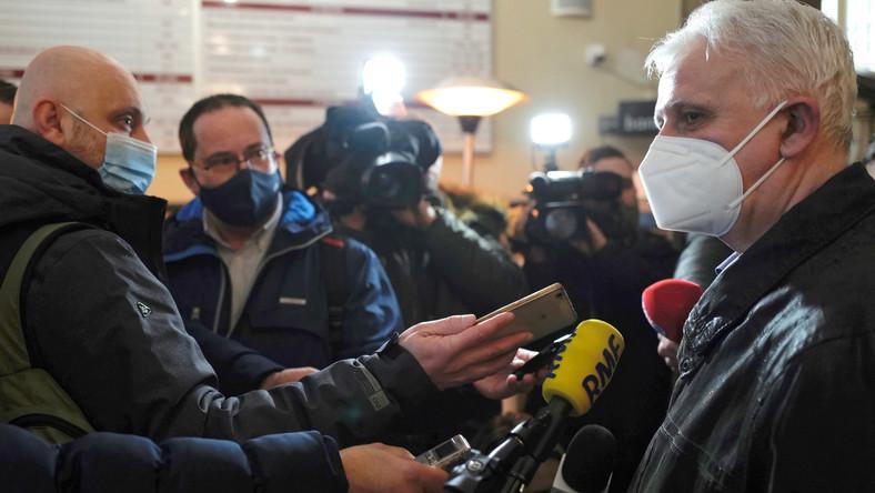 Przewodniczący Śląsko Dąbrowskiej Solidarności Dominik Kolorz