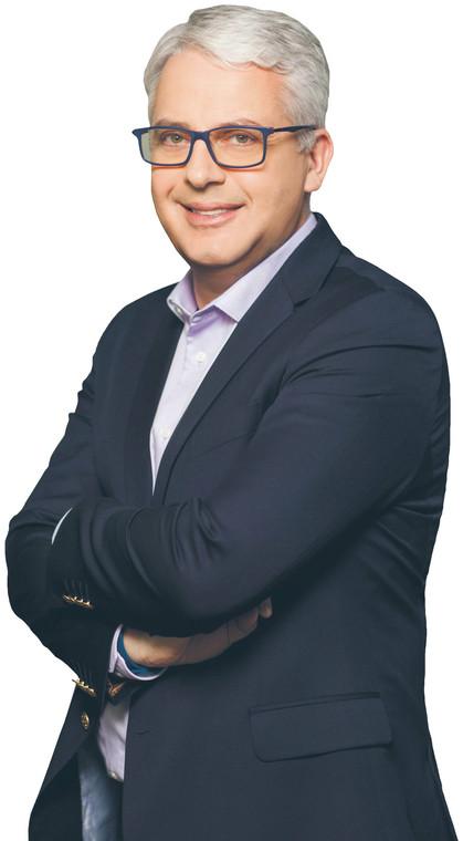 Paweł Jakubik, członek zarządu Microsoft Polska  fot. materiały prasowe