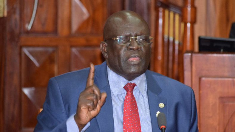 Education Cabinet Secretary Prof George Magoha