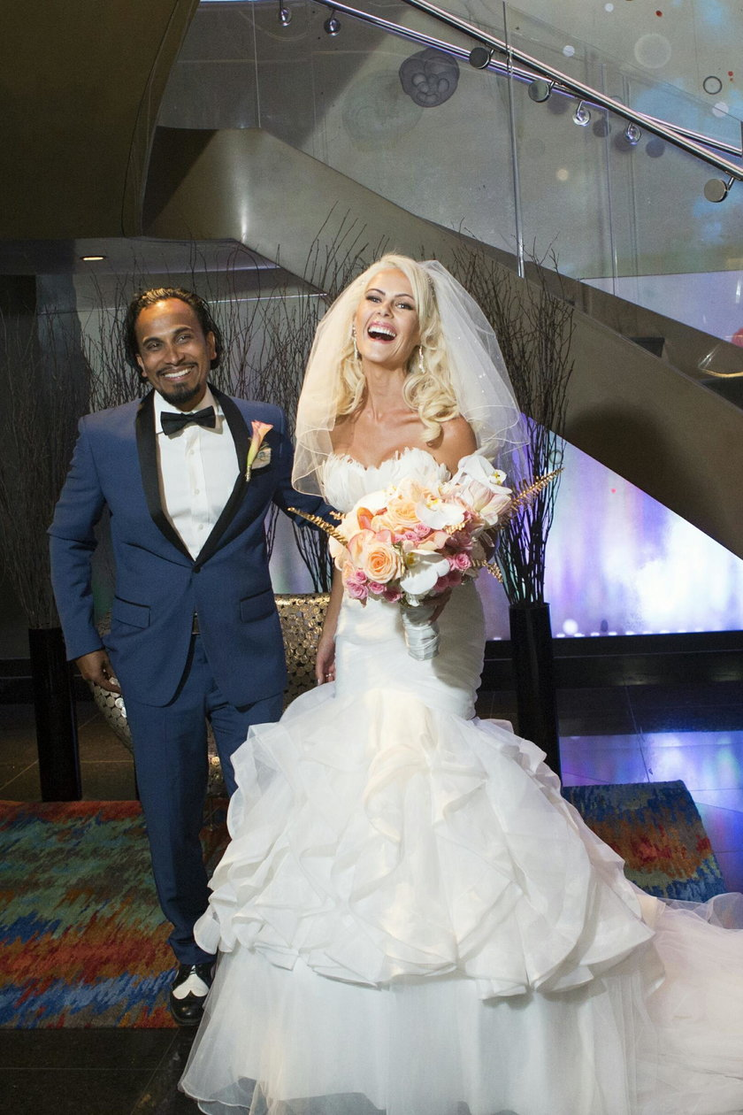Iwona Burnat i Reggie Benjamin