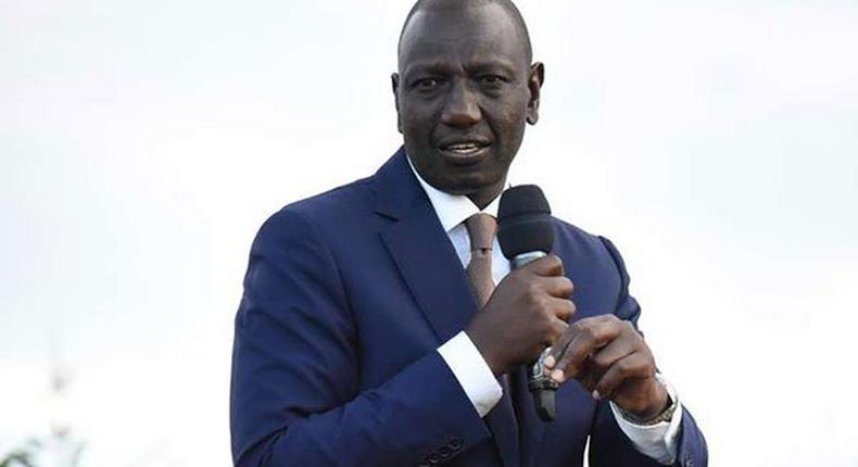 File image of DP Ruto at a past public event