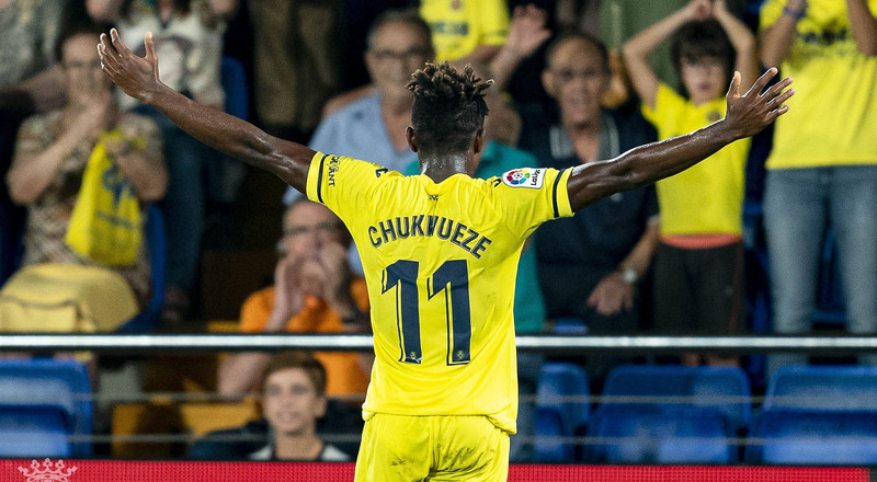 Samuel Chukwueze: Super Eagles star scores in Villarreal's 5-1 win over Betis