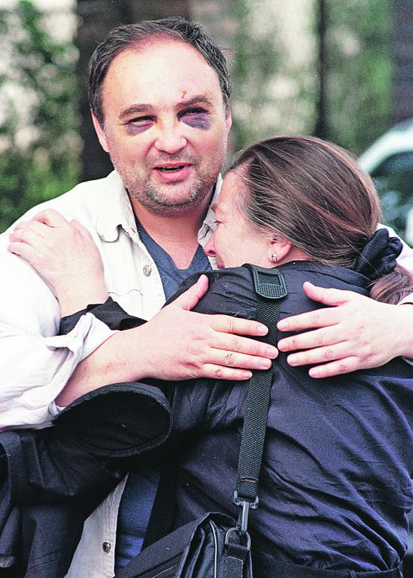 Pre 19 godina Marko Milošević sa prijateljima i telohraniteljima u Požarevcu pretukao je Nebojšu Sokolovića (na slici), Momčila Veljkovića i Radojka Lukovića.