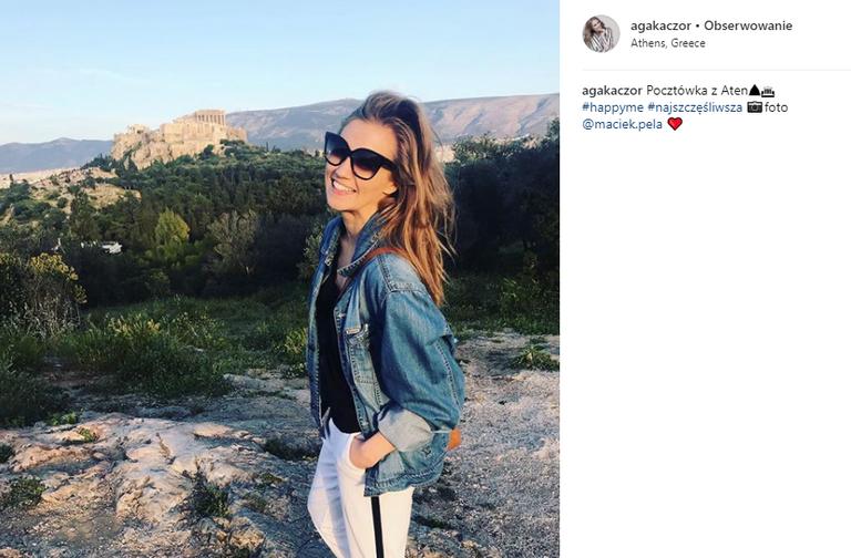 Agnieszka Kaczorowska na Instagramie