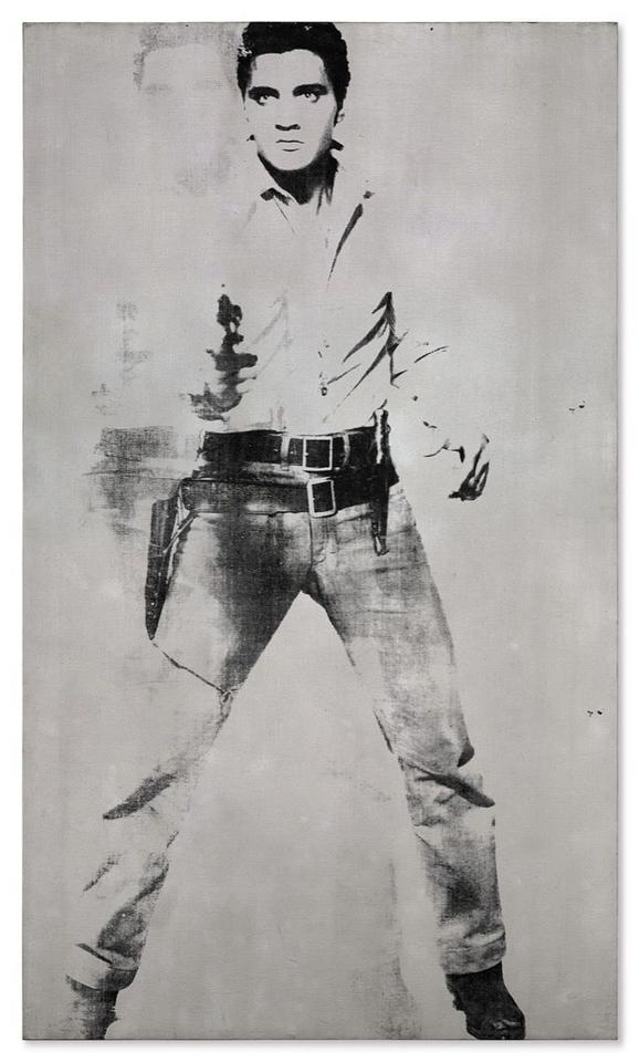 "37 mln dol. - Andy Warhol, ""Double Elvis"", 1963"