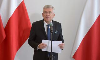 Marszałek Senatu zadeklarował współpracę z prezydentem przy referendum i zmianach w sądownictwie