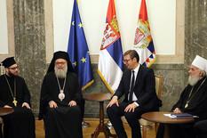 Patrijarsi Jovan X i Irinej sa Vučićem o teškom položaju srpskog naroda na KiM