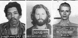 Policyjne zdjęcia znanych ludzi. Za co ich wsadzili?