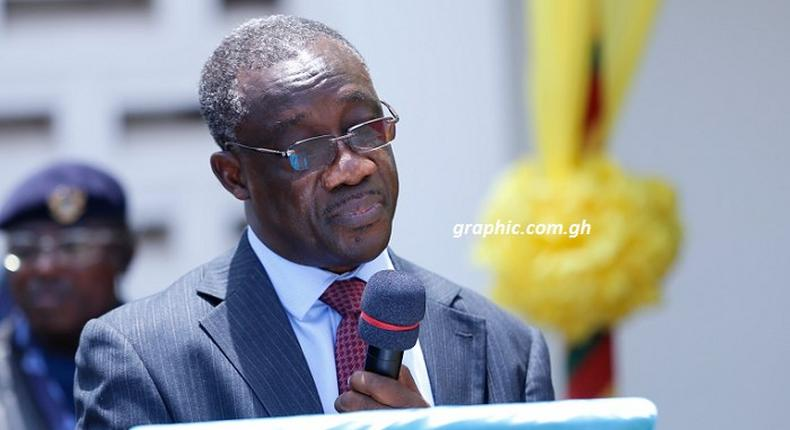 The Commissioner-General of the Ghana Revenue Authority (GRA), Mr Emmanuel Kofi Nti