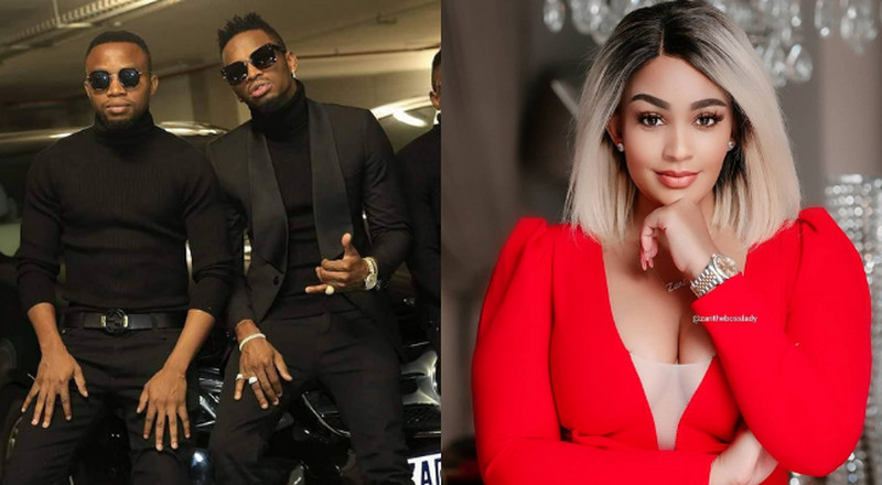 Zari Hassan loses her cool as she lectures Diamond's brother & Manager in explosive post (Screenshot)