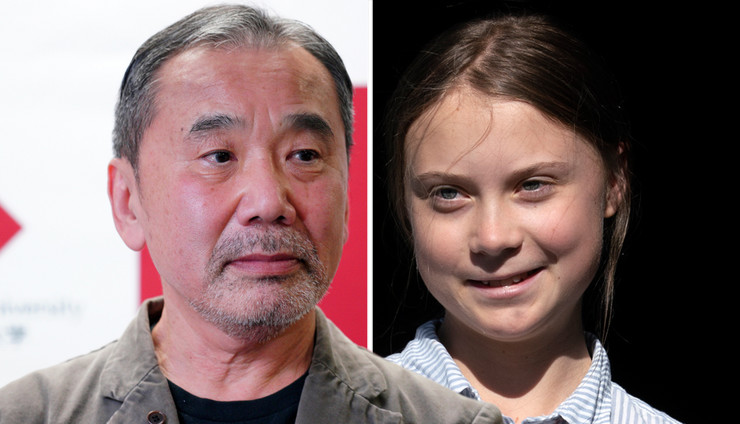 Haruki Murakami, Greta Tunberg