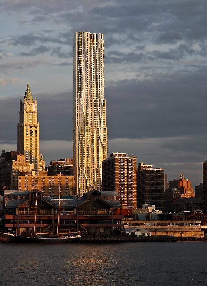 New York By Gehry, Nowy Jork, USA