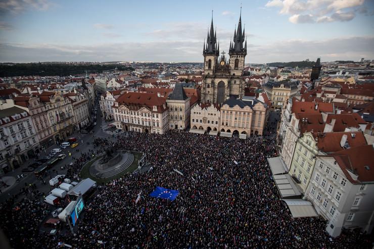Prag protest EPA - MARTIN DIVISEK