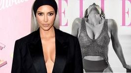 """Kim Kardashian pręży się na okładce """"Elle"""""""