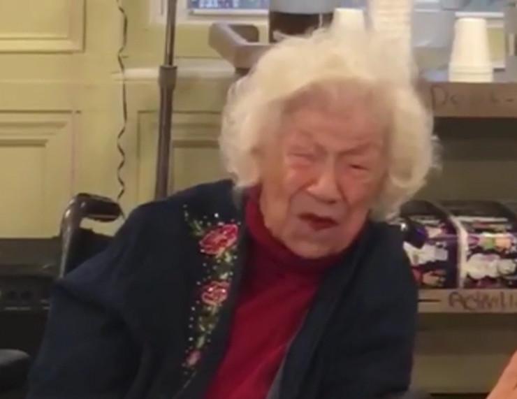 Silvija Goldšol, 108 godina, preživela koronu, Nju Džerzi