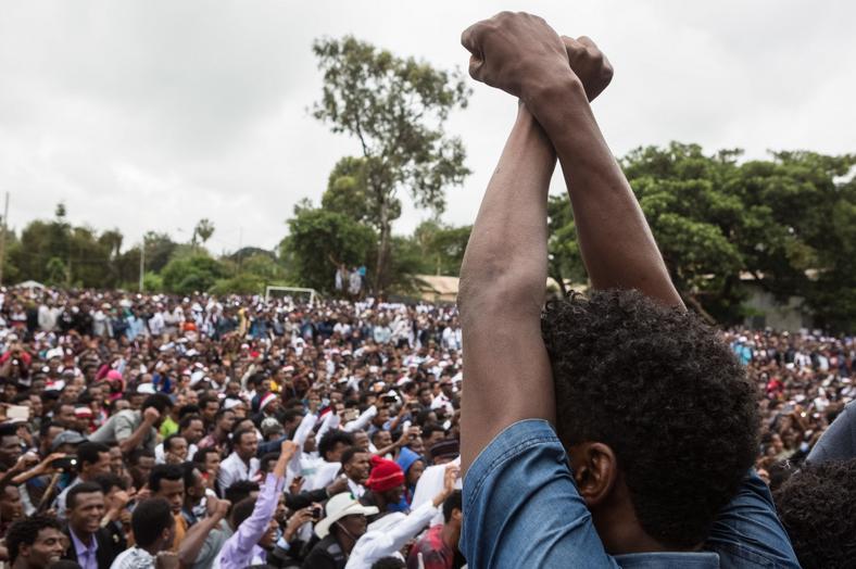 Poor people population in Ethiopia