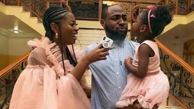 Davido's baby mama Sophie Momodu says she wept when she realised her daughter wasn't going to bear her surname