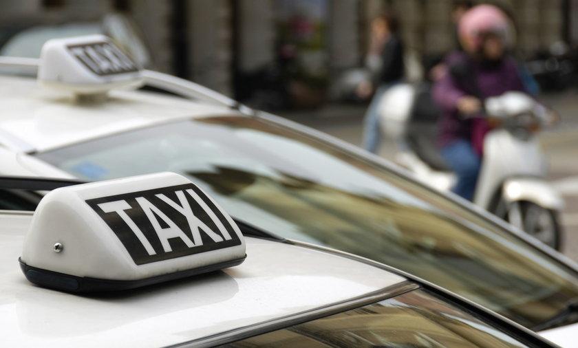 Napad na taksówkarza