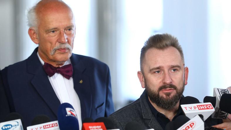 Piotr Liroy-Marzec i Janusz Korwin-Mikke