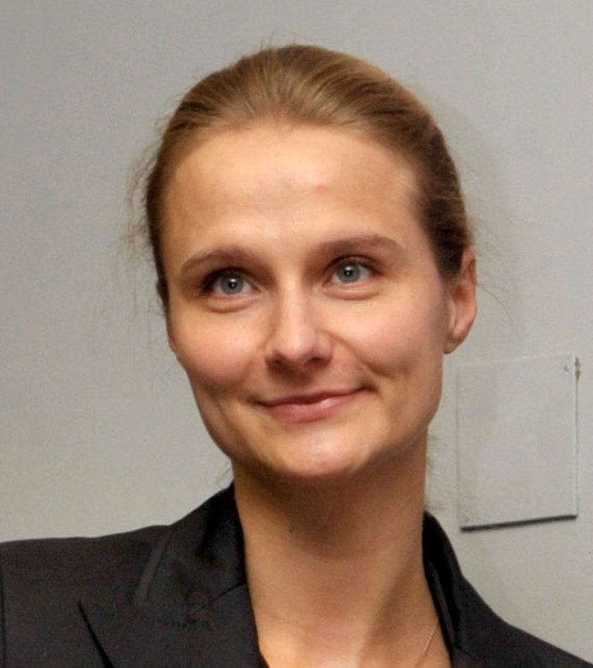 Magda Wałęsa w 2012 roku