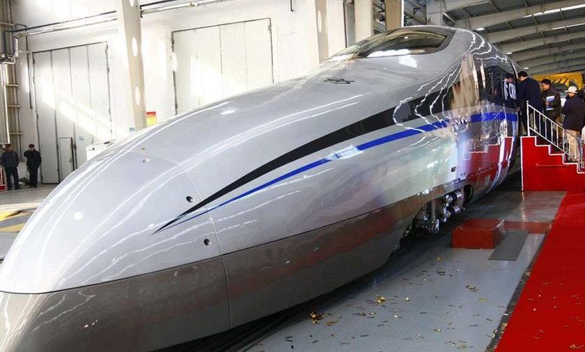 Pokazali najszybszy pociąg świata. Pojedzie...
