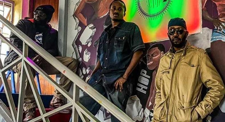 Photos of Andrew Kibe's upcoming radio station Rogue Radio