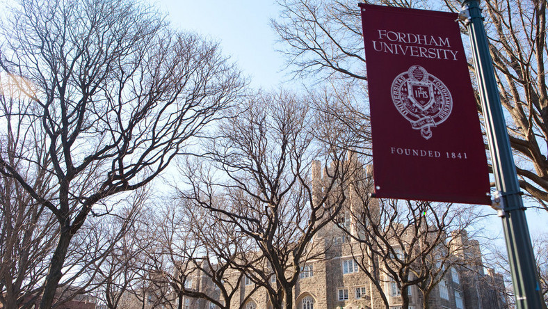 Fordham student dies after fall from campus bell tower