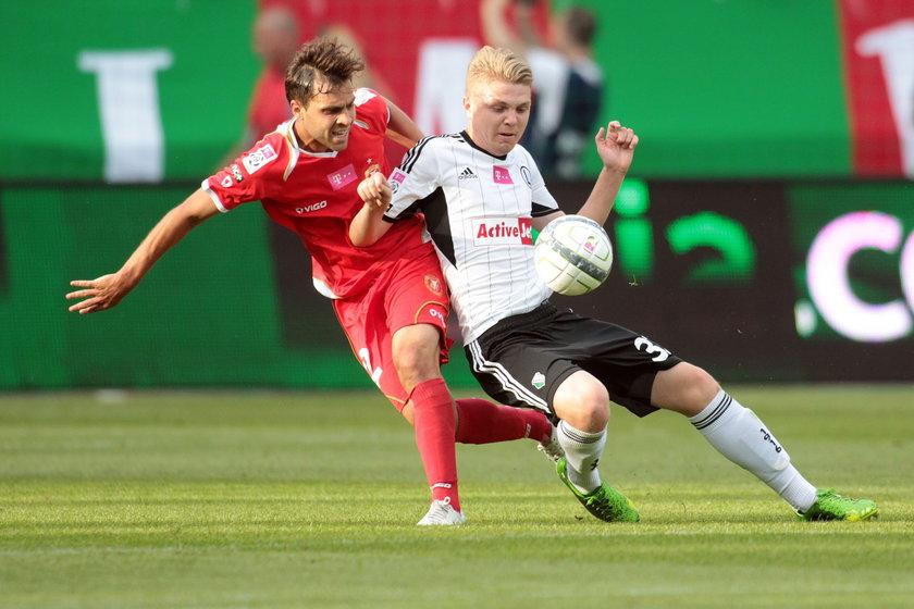 Piłkarz Widzewa Bartłomiej Pawłowski
