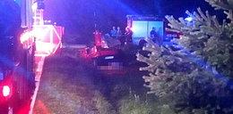 Tragiczny wypadek pod Bochnią. Nie żyją czterej młodzi mężczyzni