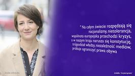 Maja Ostaszewska o niepokojących nastrojach społecznych; Tomasz Stockinger o zwolnieniu Agnieszki Kotulanki - fleszfFilmowy