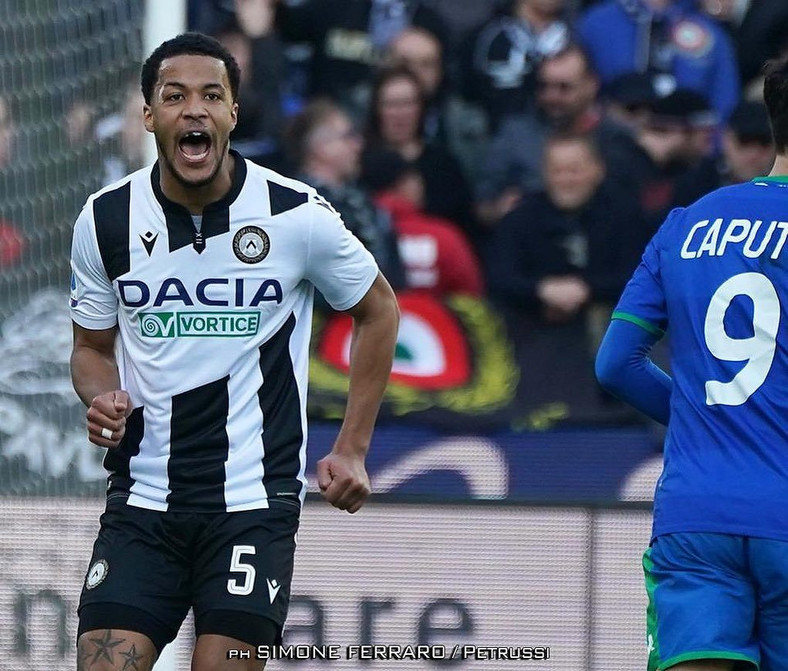William Troost-Ekong recently got a contract extension with Udinese (Simone Ferrard/Petrussi)