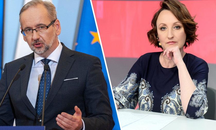 Agnieszka Burzyńska i Adam Niedzielski