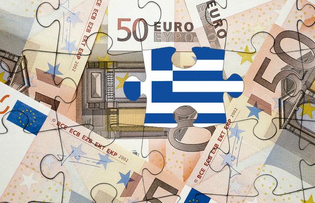 Puzzle, euro, flaga Grecji