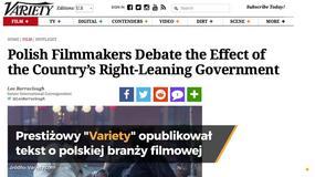 """""""Variety"""": rządząca partia PiS próbuje wpływać na polskie kino"""