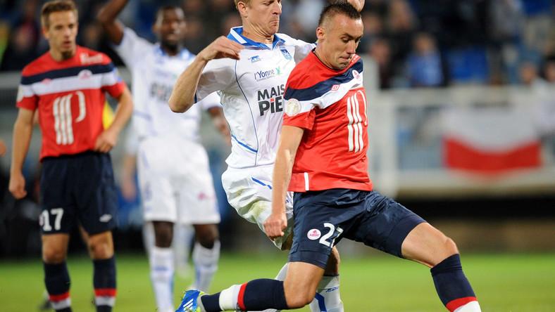 Ireneusz Jeleń strzelił gola w meczu z Auxerre